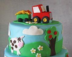Boe zegt de koe en er zit een tractor op mijn taart