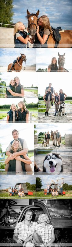 Cedric Derbaise Photographies - Picardie - Oise - Somme - Séance en famille en extérieur - séance photo avec chevaux