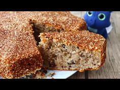 Máte sezam a vlašské orechy? !! 10 minút stačí na tento vynikajúci koláč / Neuveriteľne vynikajúce - YouTube Yummy Cakes, Baked Goods, Banana Bread, Healthy Recipes, Desserts, Food, Bananas, Seeds, Food Cakes