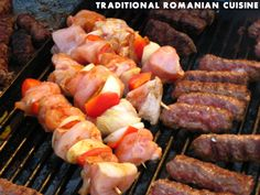 Traditional romanian food Kent United Kingdom, Romanian Food, Healthy Recipes, Healthy Foods, Easy Cooking, Sausage, Good Food, Traditional, Meals