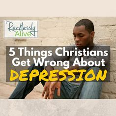 Depression is a persistent little beast that remains on the outside of public discussion and, in my experience, is largely neglected by the church. | RecklesslyAlive.com #depression