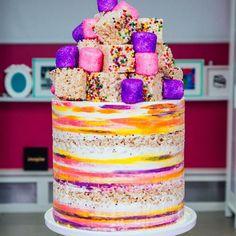 MEGA FUNFETTI CAKE