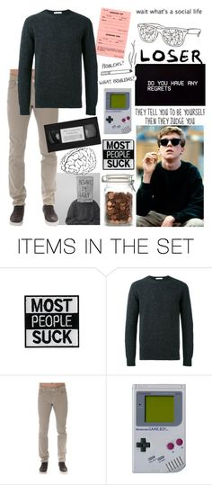 """""""A Brain - The Breakfast Club"""" by x-sweetea-x ❤ liked on Polyvore featuring art"""