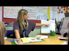 This is a GREAT example of what Guided Reading looks like! ...also a link to several other great videos including Daily 5