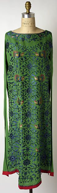 Silk Evening Dress (circa.1925) - Callot Soerurs, French Fashion House (active.1895-26)