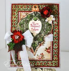 It's day Four of our Blog Hop with JustRite Stampers and we are so excited that you all have been enjoying it. We still have a couple of days left and more prizes to give out! Come join the fun!http://petaloo.typepad.com/blog/2012/10/day-four-christmas-blog-hop-with-justrite-papercrafts.html#comments