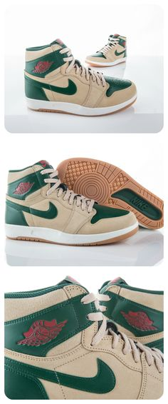 The Jordan 1.5 The Return combines the AJ1 and AJ2 to bring you a brand new shoe with old-school style.