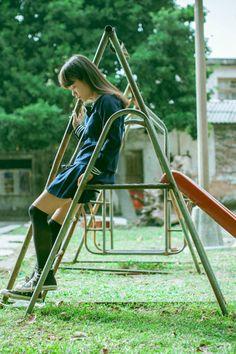 Aesthetic japanese school girl