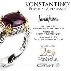 #konstantino #20yearanniversary #jewelry #greece #jewels #treasure #womensfashion #hermione #neimanmarcus