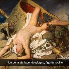Aggiungimi su Snapchat: stefanoguerrera  La mort d'Hyppolyte - Joseph-Desiré Court (1825) #seiquadripotesseroparlare