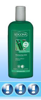 enfin trouvé un shampoing tout naturel et qui fait de beaux cheveux : shampoing crême au bambou de logona. pour les cheveux secs, il est à utiliser avec un après-shampoing. allez voir les meilleurs shampoings 100% naturels sur ce site