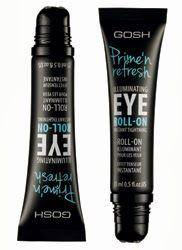 GOSH Cosmetics reveals Prime 'n Refresh Eye Roll-On Gosh Cosmetics, Sea Dragon, Eye Roll, Beauty Products, Make Up, Eyes, Nails, Finger Nails, Cosmetics