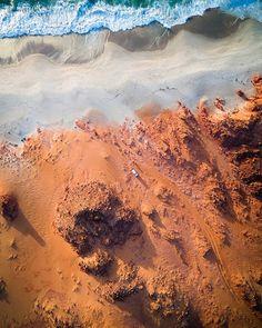 Mars on Earth. #Broome . . . . . . . . . . . . . . . . . . . . . . . . . . . . . #summer #travel #beach #sunset #gopro #nature #paradise #thisworldexists #world #earth #perth #sydney #melbourne #brisbane #darwin #cairns #adelaide #tasmania #drone #drones #dji #PolarPro #thekimberleyaustralia #aerialphotography #aerial #djiphantom @travelawesome @infinity_shotz #seascape #dronestagram #capeleveque @awesome.earth @world.vacations #