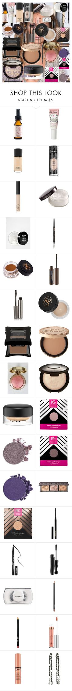 Jennifer Lopez 2015 Golden Globes Makeup Tutorial by oroartye-1 on Polyvore featuring beauty, Illamasqua, Becca, Hourglass Cosmetics, Kat Von D, Too Faced Cosmetics, Anastasia Beverly Hills, MAC Cosmetics, NARS Cosmetics and tarte