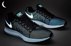 low priced c18e2 f087a Nike Air Zoom Pegasus 32 Flash - Black Reflect Silver-Pure Platinum-Cool  Grey-Wolf Grey