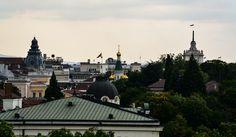 Sofia roofs, Sofia, Bulgaria