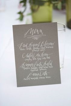 Betsy Dunlap Calligraphy | Vendors & Venues | 100 Layer Cake