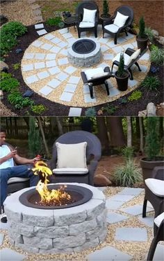 24 Best Fire Pit Ideas to DIY or Buy ( Lots of Pro Tips! ) 4167d1049e4f1