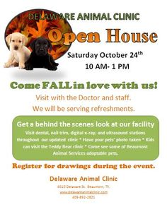 Veterinary Clinic Open House