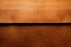 Brown Edged Leather Texture