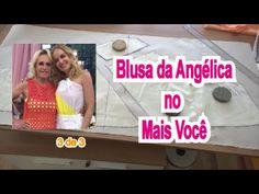 Blusa que Angélica usou no MAIS VOCÊ dia 27/11/205 - 3/3