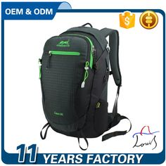 Wholesale OEM Outdoor Sports Climbing Camping Hiking Trekking Cycling Running Backpack 30L Mountaineering Bag