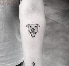 64 ideas dogs pitbull tattoo for 2019 Dog Tattoos, Animal Tattoos, Cute Tattoos, Tattoos For Guys, Tattoos For Women, Awesome Tattoos, Tatoos, Unique Tattoos, Beautiful Tattoos