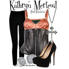 Inspired by Sarah Michelle Gellar as Kathryn Merteuil in 1999's Cruel Intentions.