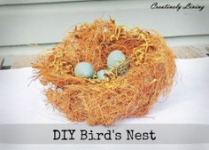 DIY Spring Bird's Nest