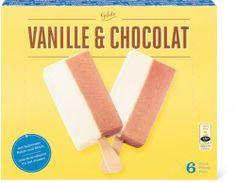 Blöckli Glace Vanille / Schokolade #IceCream