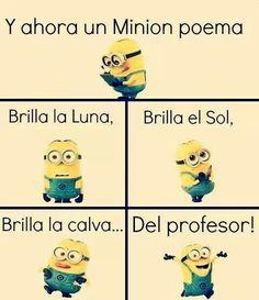 Poema de los minions! :)