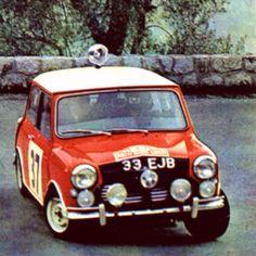 Mini Cooper at Monte Carlo Rally