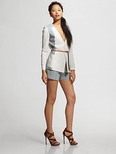 Short suit! Sachin + Babi - Sandy Jacket With Belt