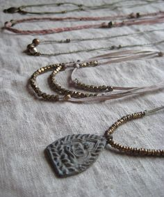 beautiful necklaces by untold imprint