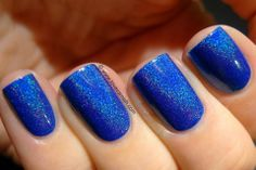 Too Fancy Lacquer - Set Fire to the Rain.  Drool!  So bright, so beautiful...