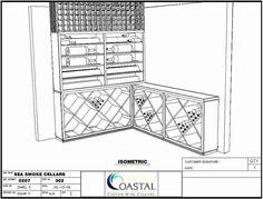 Coastal Custom Wine Cellars 26222 Paseo Toscana San Juan Capistrano, CA California Office: Santa Barbara Wineries, Wine Cellar Design, Santa Barbara California, Knotty Alder, San Juan Capistrano, Wine Cellars, Wine Racks, Smoke, Coastal
