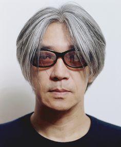 You've got nice hair Mr Ryuichi Sakamoto.