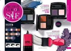 eBrochure | AVON True Color Eye Duo just $3.99 with 8 colors to choose from. Mega Effects Mascara at the LOWEST PRICE ever. $7.99. Order online at https://andreafitch.avonrepresentative.com/