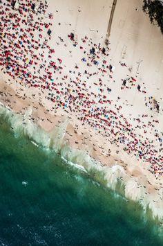 Copacabana Beach, Rio De Janeiro | Brazil byRicardo Mavigno(Tumblr) Copacabana Beach, Beach Bucket, Exploring, Tumblr, Abstract, Artwork, Painting, Rio De Janeiro, Summary