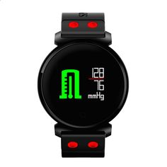K2 Bluetooth Smart Watch Sove / hjertefrekvens / blodtryk / blodsyremonitor Fjernkamera Smartwatch til iOS Android-telefon