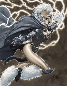 Asgardian Storm by Mark Brooks *