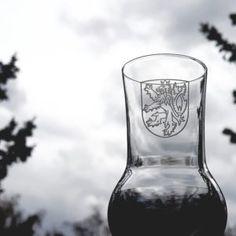 Sklenice na destiláty – Tvujpullitr.cz Engraving, Czech Lion Český znak, Lev Grappa glass Lion, Leo, Lions