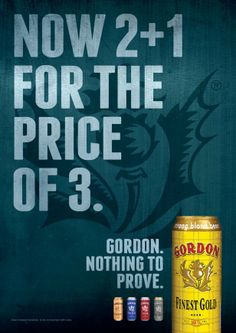 Gordon Finest Beers: Nothing To Prove!