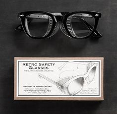So stylish to give or get! Retro Safety Glasses | Stocking Stuffers | Restoration Hardware
