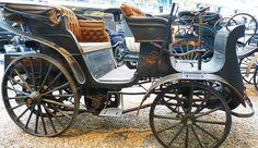 Benz Viktoria - 1893 - Vintage car at the National Technical Museum of Prague… Vintage Cars, Antique Cars, Benz, Baby Strollers, Motorcycle, Czech Republic, Antiques, Vehicles, Prague