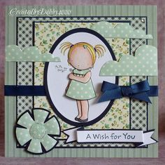 Created by Debby for the Simon Says Stamp Wednesday Challenge (Bling It On) December 2013