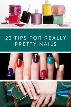 22 Tips For Really Pretty Nails via @PureWow