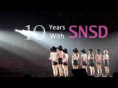 GIRLS' GENERATION 10TH ANNIVERSARY | 소녀시대 10주년 少女時代十週年[FMV] - YouTube