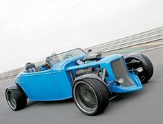 Hot rod com cara de 1930 e performance de superesportivo do seculo 21