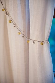 Curtain Tiebacks. Silver and Gold Curtain Tiebacks. by YoursTrulli, $34.00